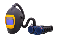 Welding sets - welding helmets with respiratory protection