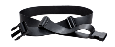 CleanAIR Decontaminable rubber belt