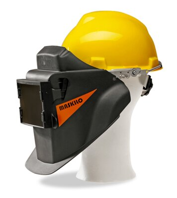 Maskilo M10 welding helmet with hard hat